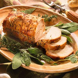 Garlic-Studded Pork Loin Roast.