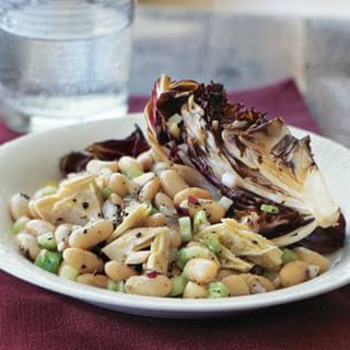 Cannellini Bean Salad with Grilled Radicchio and Tuna