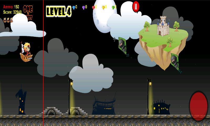 Pirates vs Ninjas- screenshot