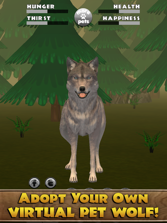 play as a wolf pup and find a pack game