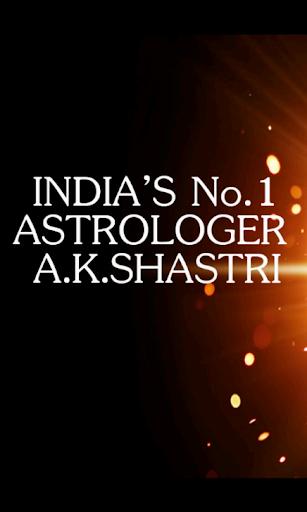 Astrologer: A. K. Shastri
