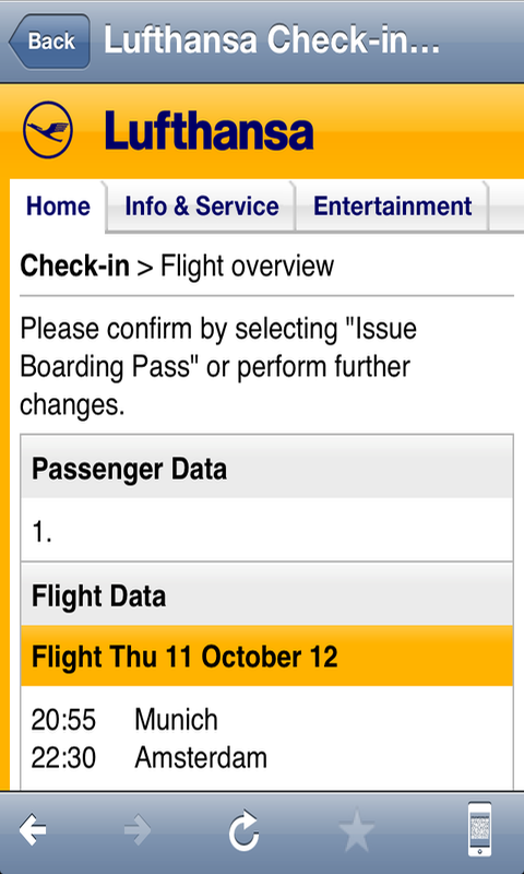 Airline Flight Check-In Europe- screenshot