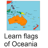 Learn Flags of Oceania