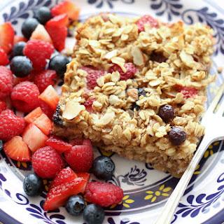 Summer Berries Baked Oatmeal.