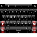 Theme TouchPal Dusk Black Red icon