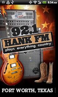 92.1 Hank FM- screenshot thumbnail