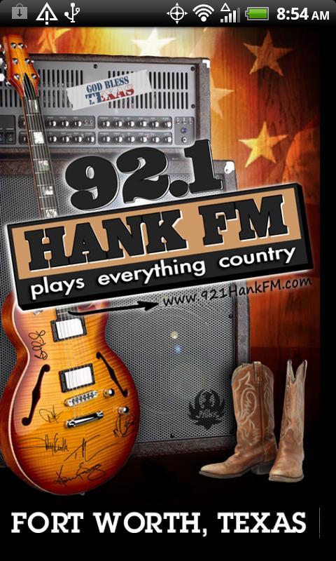 92.1 Hank FM- screenshot