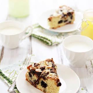 Almond Blueberry Lemon Curd Coffee Cake.
