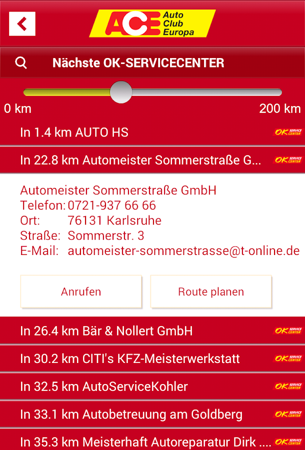 ACE - screenshot