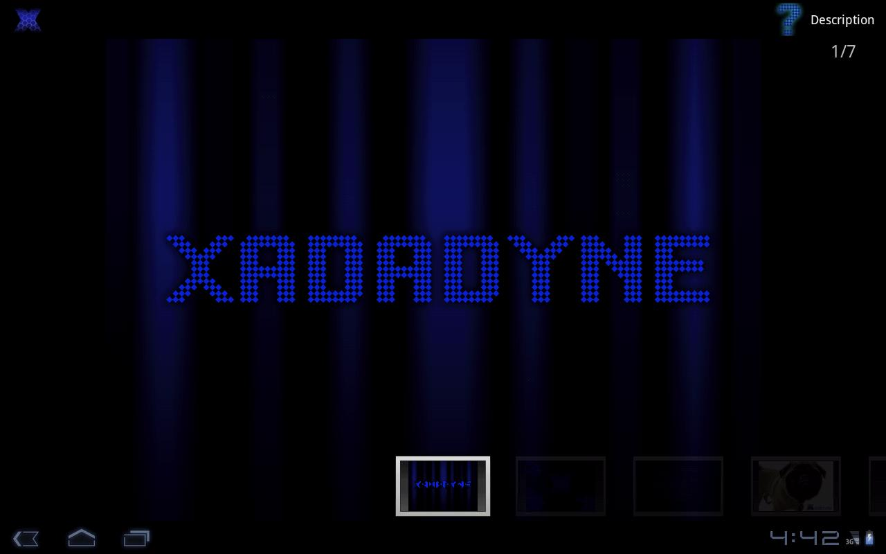 Xadadyne Tablet - screenshot