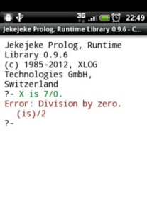 Jekejeke Prolog Runtime - screenshot thumbnail