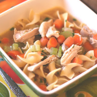 Vegetable Chicken Noodle Soup.