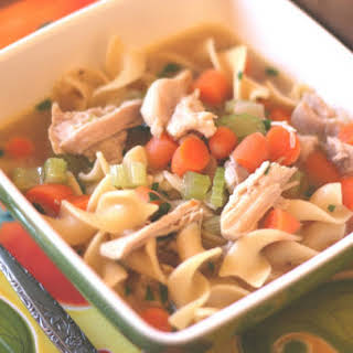Vegetable Soup With Egg Noodles Recipes.