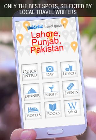 382 Spots in Lahore Pakistan
