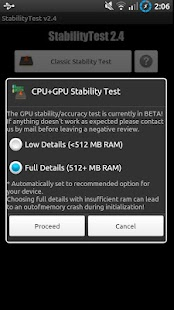 StabilityTest (ROOT optional) – Miniaturansicht des Screenshots