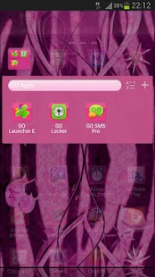 GO Launcher Theme Zebra Heart- screenshot thumbnail
