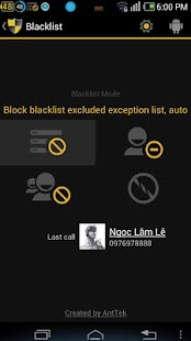 BlackList - screenshot thumbnail