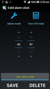 Solid Alarm Clock Extended screenshot 1