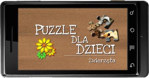 Puzzle dla dzieci : Zwierzęta