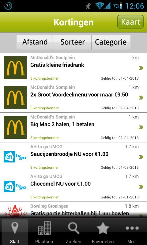 dichtbijdeals - screenshot