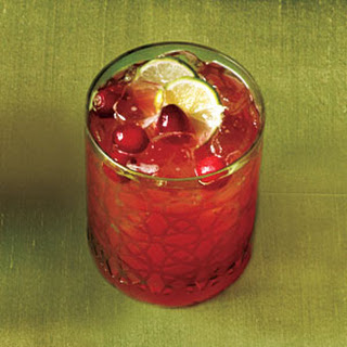 Cranberry-Key Lime Punch.