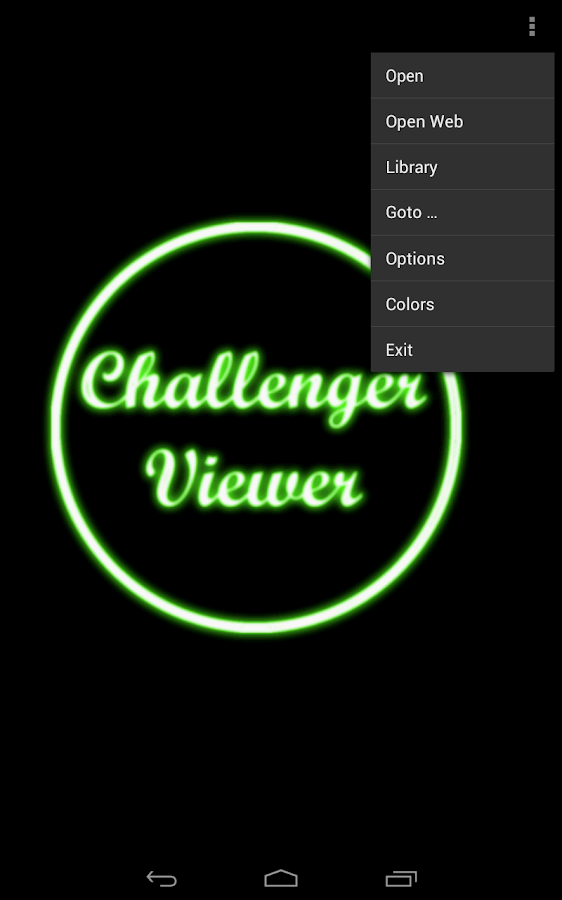 Challenger Comics Viewer - screenshot