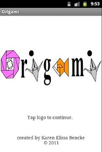 Origami- screenshot thumbnail