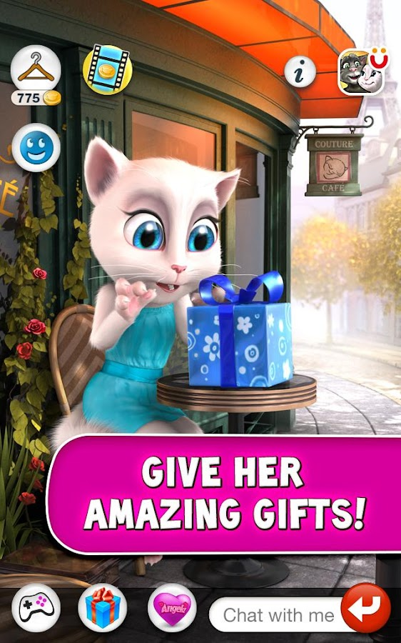 Talking Angela - screenshot