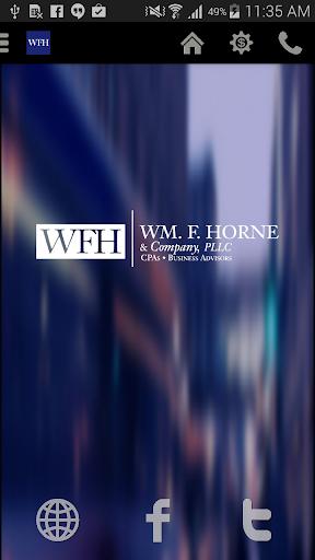 WM F Horne Co