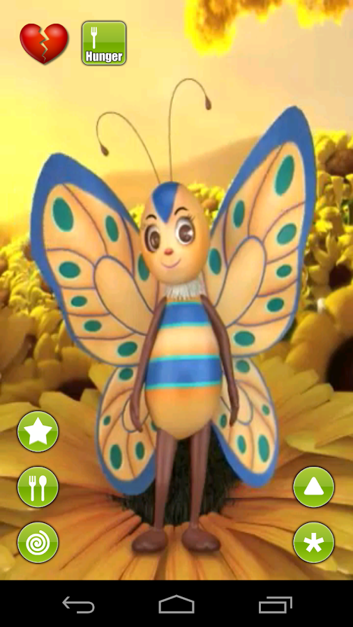Talking Butterfly- screenshot