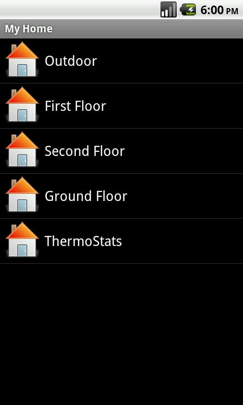 QW Home Automation - screenshot