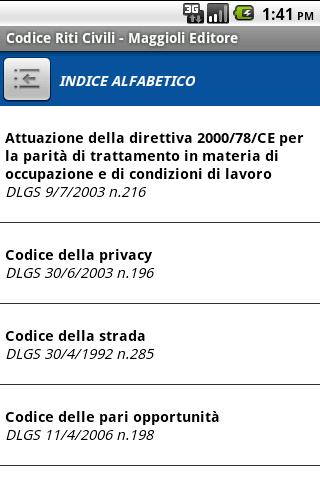Codice dei Riti Civili- screenshot