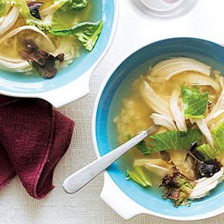 Mesclun Chicken Soup.