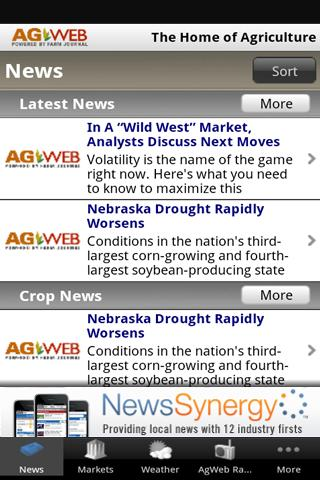AgWeb News & Markets - screenshot