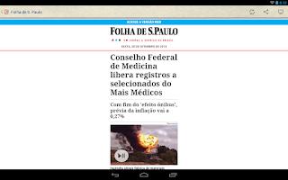 Screenshot of Jornal do Brasil