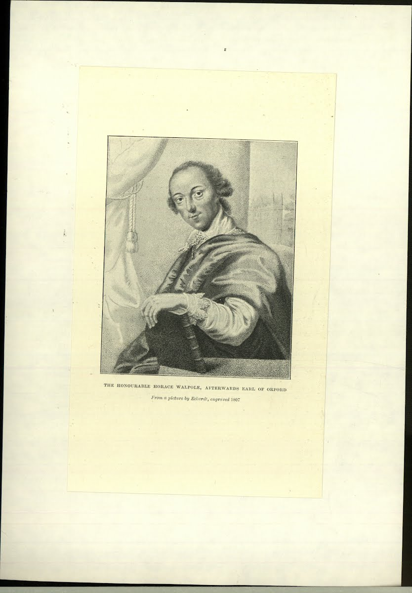 Orford 4Th Earl Horace Walpole 1717-1797 Author