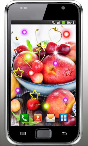 Fruit n Cakes live wallpaper