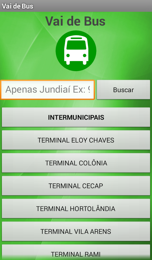 Vai de Bus Jundiaí- screenshot