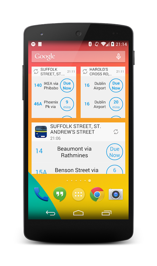 Next Bus Dublin - screenshot