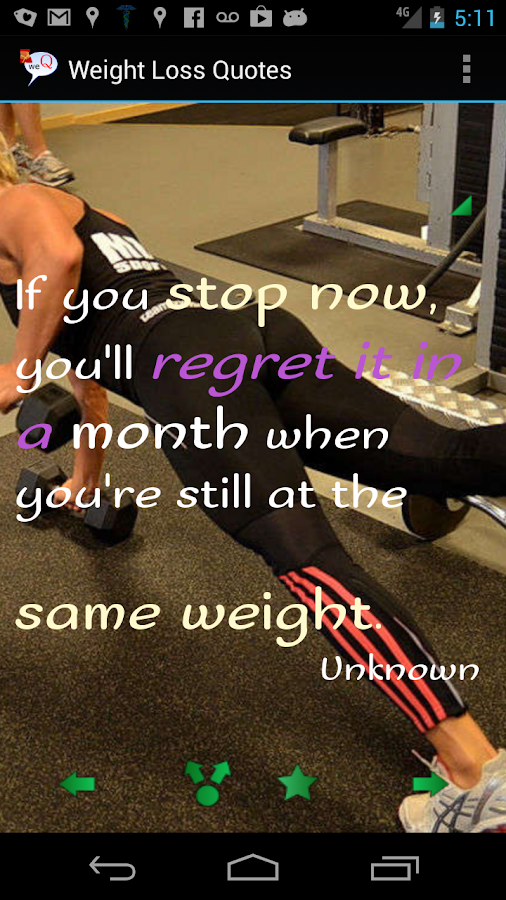 Weight Loss Quotes- screenshot