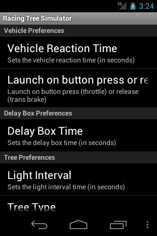 Drag Racing Tree Simulator screenshot