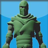 3D Ninja Live Wallpaper