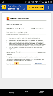 DocuSign - Sign & Send Docs- screenshot thumbnail