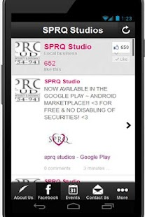 SPRQ Studio - screenshot thumbnail