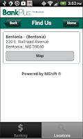 Screenshot of BankPlus2Go for Business
