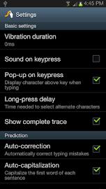Swype Keyboard Free Screenshot 3