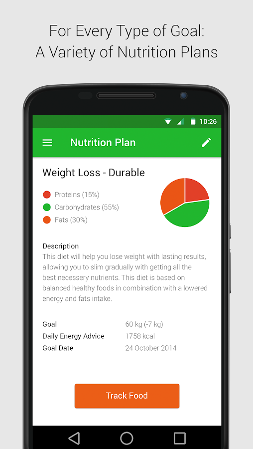 Calorie, Carb & Fat Counter - Android Apps on Google Play