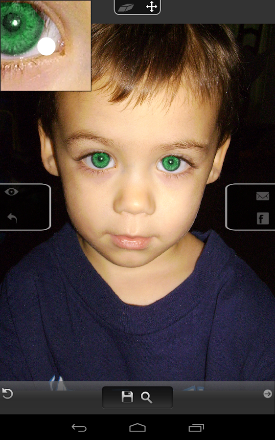 Eye Color Changer Pro - screenshot