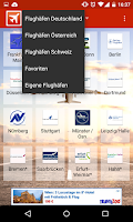 Screenshot of Flughafen Info