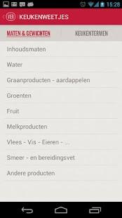 Vier Recepten - screenshot thumbnail